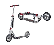 "City Scooter Big Wheel Air Hudora Alu 8"" 205 Air weiß/silber 205mm"
