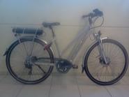 E-Bike Cross 28 Cross Ride e500 Herren Alu 9Gg RH 18,0 Zoll Farbe green-blue-black 9Gg Shi DeoreFedergabel Suntour Nex  STePS 6000 Antrieb