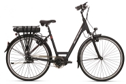 E-Bike 28 City  SSC 300 Plus Damen Alu 8Gg 'Zugelassen bis 170 Kg Gesammtgewicht'RH 57 cm Farbe grey-mattt  STePS 6010  8Gg NexusGabel Suntour NEX-E25P 63mm   Magura HS11
