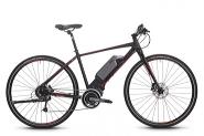 E-Bike 28  Cross eRX590 9Gg DEORE Shimano STePS SportRH 21,0 Zoll  Farbe black-matt/redAlu 6061 T6  Steps Rahmen Shi Hyd. Disc Shimano STePS SportRH 21,0 Zoll  Farbe black-matt/redAlu 6061 T6  Steps Rahmen Shi Hyd. Disc