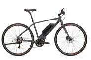 E-Bike 28 Cross eRX690 9Gg Alu 9Gg DEORE RH 21,5 Zoll   Farbe grey-black  STePS 6000Gabel Alu rigid Superlight RH 21,5 Zoll   Farbe grey-black  STePS 6000Gabel Alu rigid Superlight