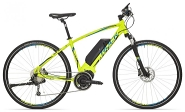 E-Bike Cross 28 Cross Ride e500 Herren Alu 9Gg RH 18,0 Zoll Farbe green-blue-black 9Gg Shi DeoreFedergabel Suntour Nex  STePS 6000 Antrieb RH 18,0 Zoll Farbe green-blue-black 9Gg Shi DeoreFedergabel Suntour Nex  STePS 6000 Antrieb