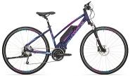 E-Bike Cross 28 Cross Ride e500 Damen Alu 9Gg RH 19,0 Zoll Farbe blue-pink-blue 9Gg Shi DeoreFedergabel Suntour Nex  STePS 6000 Antrieb RH 19,0 Zoll Farbe blue-pink-blue 9Gg Shi DeoreFedergabel Suntour Nex  STePS 6000 Antrieb