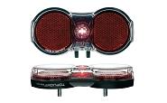 Batterie-Rücklicht b&m Toplight Flat senso, Batteriebetrieb einschaltauto