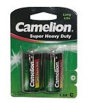 Batterie Camelion Green Baby R14 2 Stück, Zink-Chlorid, 1,5V 2800 mAh