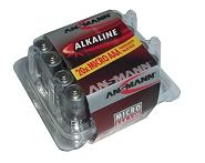 Batterie Ansmann Alkaline Micro LR 03 1,5 V, 1 x = 1 Box mit 20 Stück!