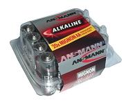 Batterie Ansmann Alkaline Mignon LR 06 1,5 V, 1 x = 1 Box mit 20 Stück!