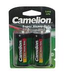 Batterie Camelion Green Mono R20 2 Stück, Zink-Chlorid, 1,5V 6200 mAh