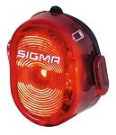LED Rücklicht Sigma Nugget II schwarz