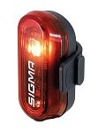 LED Batterie Rücklicht Sigma Curve schwarz