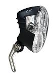 Scheinwerfer AXA Echo 15 f.Nabendynamo mit Halter und Kabel