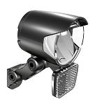Frontscheinwerfer Herrmans H-Black MR4 E E-Bike, schwarz, on