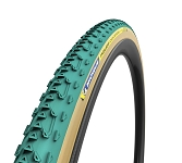 "Reifen Michelin Power Cyclocross Jet fb. 28"" 700x33C 33-622 grün Tubular"