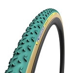 """Reifen Michelin Power Cyclocross Mud fb. 28"""" 700x33C 33-622 grün Tubular"""