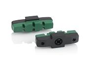 XLC Ersatzbremsgummi für Magura BS-X95 4er Set, 50mm, grün