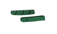 XLC Ersatzbremsgummi BS-X01 4er Set, 55mm M.A.O./Keramik Campa green