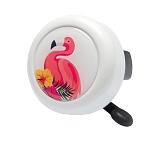 Motivglocke Reich Flamingo 55mm, weiß, SB-Karte