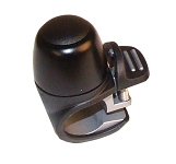Miniglocke Widek Compact II schwarz, Alu/Kunststoff