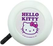 Fahrradglocke Hello Kitty weiß/pink mit Motiv, Ø 55mm, SB-Karte