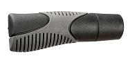 Lenkergriffe Herrmans Airo 120mm, Ø 22mm, schwarz/grau, Paar