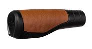 Lenkergriffe Herrmans Primo 130mm, Ø22mm, sz.Act.tex brown ant, Paar