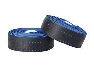 Lenkerband ITM EVA gelocht schwarz, Löcher in blau