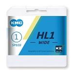 Kette KMC HL1 Wide Silber 1/2 x 1/8, 100 Glieder, 9,4mm