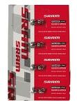 Kettenverschlussglied Sram Set/4St. Power Link 6/7/8-fach silber