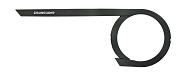 Kettenschutz Hebie Chainglider open 38 Zähne,schwarz,f. Nabensch.+ DualDrive