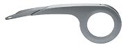 Kettenschutz Hebie 1-flügelig verstellb. 38 Zähne, silber, für Nabenschaltung