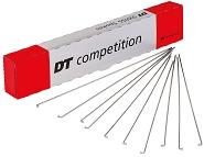 Speichen DT Swiss 2.0x1.8x2.0x268mm Kart.100 St. silber,Compet., ohne Nippel