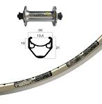 V-Rad 13-622 Tiagra silb.SSP 32L Ryde Racer silber.Niro.Spei.DD