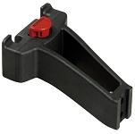 Lenkeradapter KLICKfix für Steuerrohr schwarz, f. Räder mit Gewindesockel