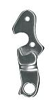 XLC Schaltauge DO-A43 Aluminium