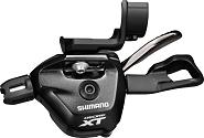 Schalthebel Deore XT SLM8000 I-Spec II 2-3-fach links , schwarz, 1800 mm lg.