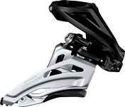 Umwerfer Shim. Deore SideSwing FDM617HX6 Front Pull,66-69° schw.High-C