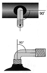 """Schlauch Impac AV 2.50-3"""" AV 90/90°"""