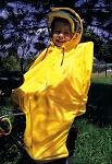 Regenschutz Hock Rain-Bow uni/gelb für Kinders.