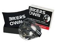 Display Schutz BikersOwn klein transparent, mit Gürteltasche schwarz