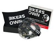 Display Schutz BikersOwn groß transparent, mit Gürteltasche schwarz