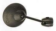 Fahrradspiegel b&m Cycle Star Ø80mm mit kurze, gerade Stange