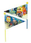 Sicherheitswimpel  Sponge Bob zweiteilig