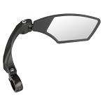 Fahrradspiegel M-Wave Spy Space schwarz, rechtsmontage , Ø 22,2mm