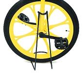 Abstellständer für Einrad Stahl, schwarz, Befestigung an der Gabel