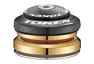 "Steuersatz TOKEN Omega C-Serie AHead 1 1/8"" Taper 1.5"" sz./Carbon (42/52) TBT"