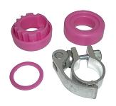 Steuersatz f. Fuzion Sport 4 Wheel pink mit SSP-Klemme