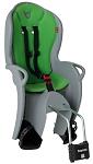 Kindersitz Hamax Kiss grau/grün Befestigung Rahmenrohr