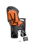 Kindersitz Hamax Siesta grau/orange Befestigung Rahmenrohr abschließbar