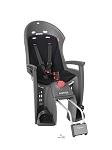 Kindersitz Hamax Siesta grau/schwarz Befestigung Rahmenrohr abschließbar