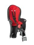 Kindersitz Hamax Sleepy schwarz/rot Befestigung Rahmenrohr